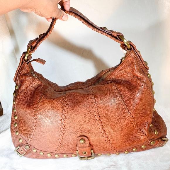 58f93b256e3 Isabella Fiore Bags   Audra Hobo Bag Cognac Color Leather   Poshmark